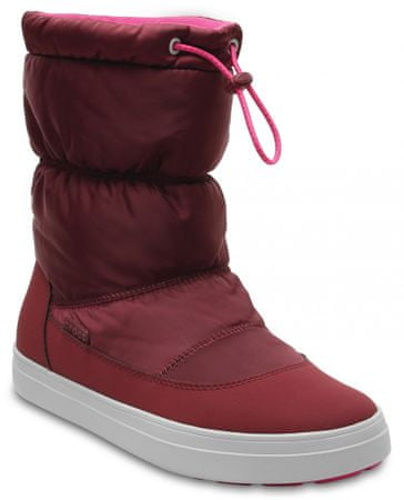Crocs LodgePoint Shiny PullOn W Garnet/Candy Pink 37,5