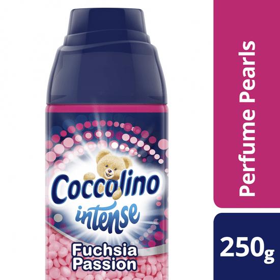 Coccolino dišeče kroglice za perilo Intense Fuchsia Passion, 250 g