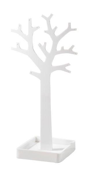 Compactor Stojan na šperky ve tvaru stromu, bílý