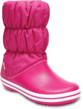 Crocs ženski škornji Winter Puff Boot, roza, 36,5