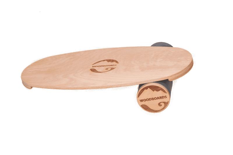 WOODBOARDS Balanční pomůcka Woodboards Original - komplet