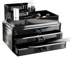 Compactor duży organizer na kosmetyki, czarny