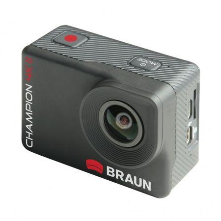 Braun športna kamera Champion 4K II 57670 - odprta embalaža