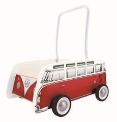 Hape pchacz autobus T1, czerwony