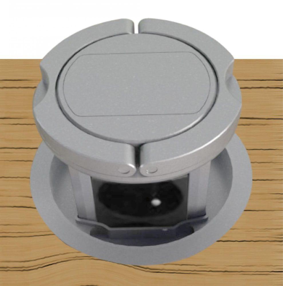 Moveto Otio výsuvná zásuvková lišta, 3 zásuvky