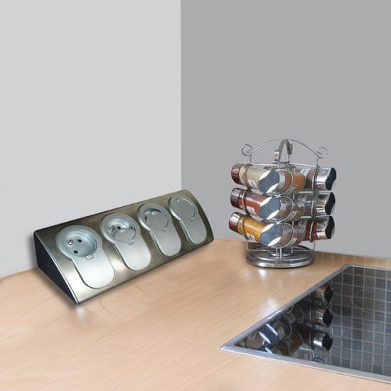 Moveto Otio rohový blok se 4 zásuvkami