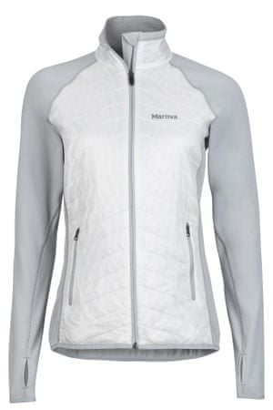 Marmot ženska kombinirana izolacijska jakna Variant, belo-siva, XS