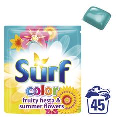 Surf Color Fruity Fiesta kapsle na praní 45 ks