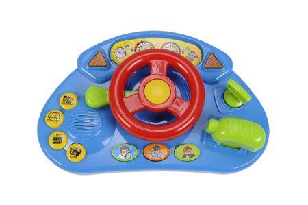 Simba Kokpit závodního auta - červený volant