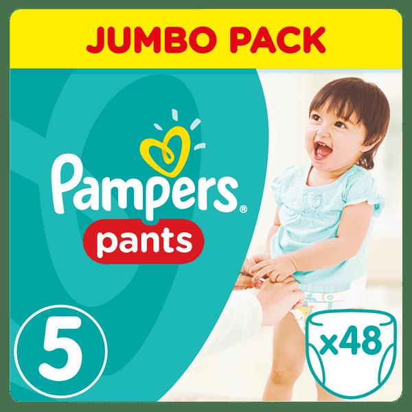 Pampers Plenkové kalhotky ActivePants 5 Junior Jumbo Pack 48 ks