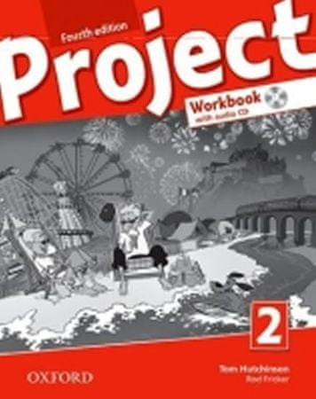 Hutchinson Tom: Project Fourth Edition 2 Workbook with Audio CD and Online Practice (International E