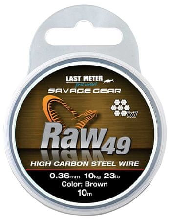 Savage Gear Lanko Raw49  10 m 23 kg
