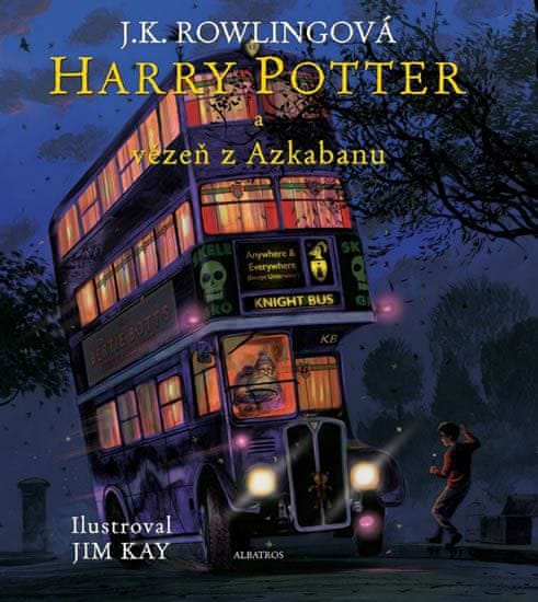 Rowlingová Joanne Kathleen: Harry Potter a vězeň z Azkabanu (ilustrované vydání)