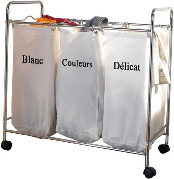 Compactor Trojitý koš na třídění špinavého prádla