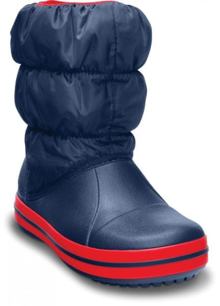 Crocs Winter Puff Boot Kids Navy/Red 24,5
