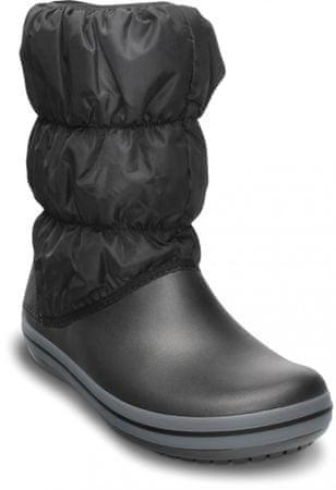 Crocs ženski zimski škornji Winter Puff Boot, črni, 39,5