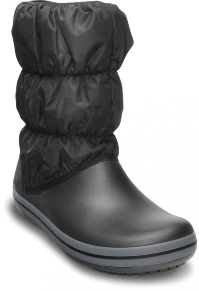 Crocs Winter Puff Boot Women Black/Charcoal 37,5