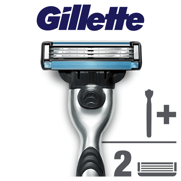 Gillette Mach3 Pánský holicí strojek + holicí hlavice