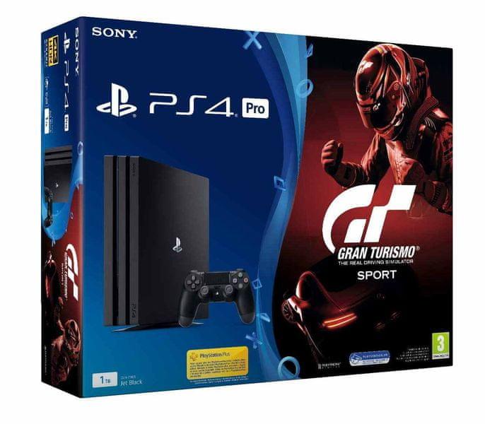 Sony PlayStation 4 Pro - 1TB + Gran Turismo Sport