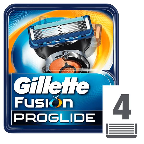 Gillette Fusion ProGlide Náhradní hlavice k holicímu strojku 4 ks