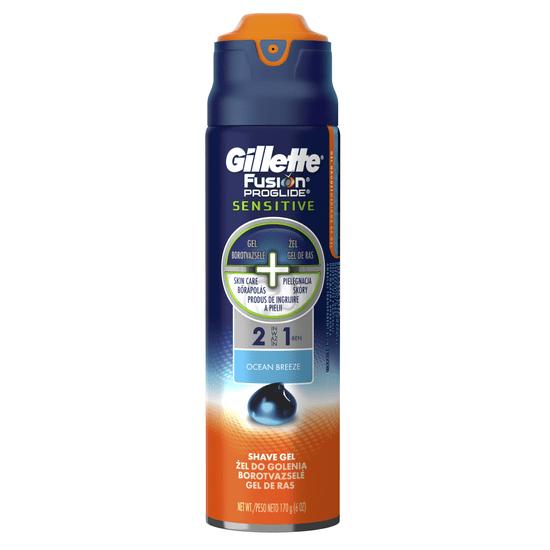 Gillette żel do golenia Fusion ProGlide Sensitive 170 ml