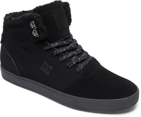 DC Crisis High Wnt M Shoe Blg Black/Grey 45