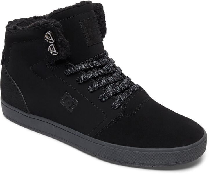 DC Crisis High Wnt M Shoe Blg Black/Grey 43