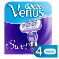 Gillette Venus Swirl Borotvabetét, 4 db