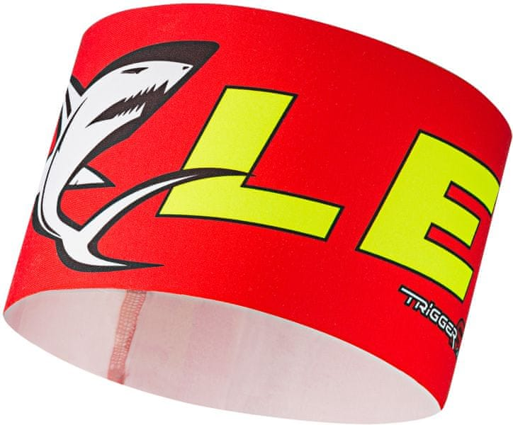 Leki Race shark headband red S/M
