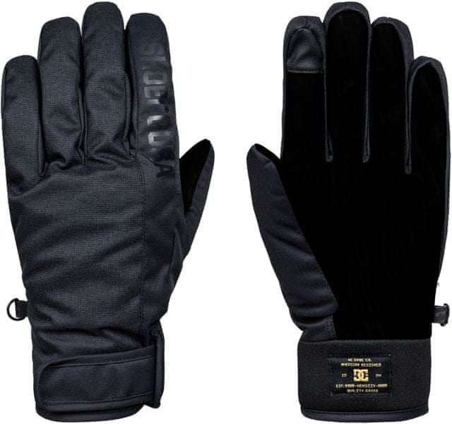 DC Deadeye Glove M Glov Kvj0 Black XL
