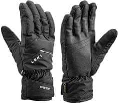 Leki moške alpinistične rokavice Apic GTX, črne