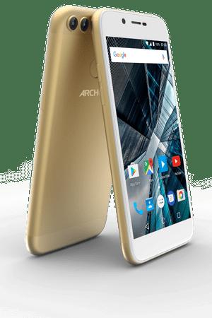 Archos Sense 50DC, 16 GB ROM, 2 GB RAM, zlatý