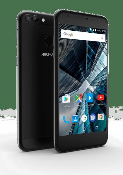 Archos Sense 55DC, 16 GB ROM, 2 GB RAM, černý
