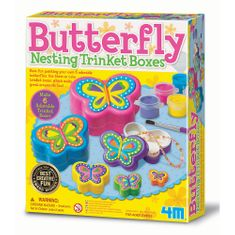 4M okrasne škatljice, metulj