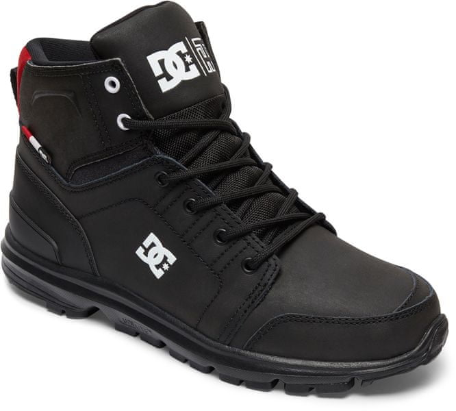 DC Torstein M Boot Kaw Black/Athletic Red/White 45