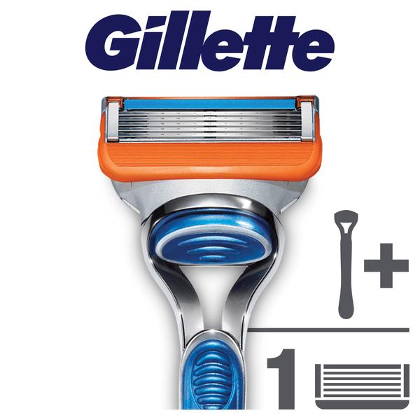 Gillette Fusion Power holící strojek s 1 baterií