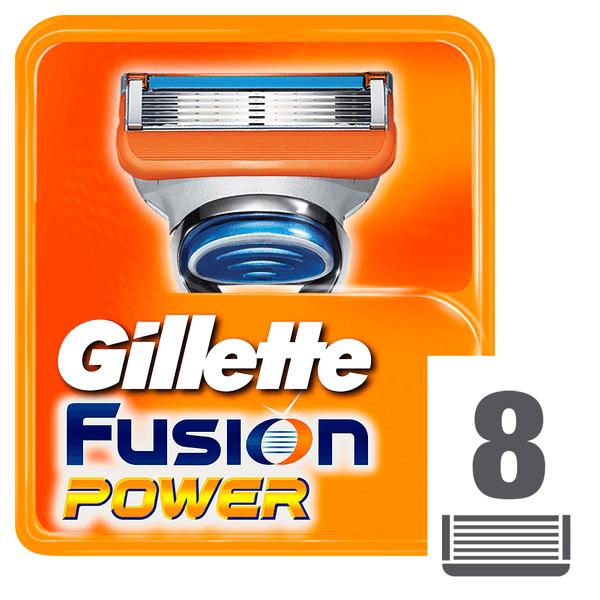 Gillette Fusion Power Náhradní hlavice k holicímu strojku 8 ks