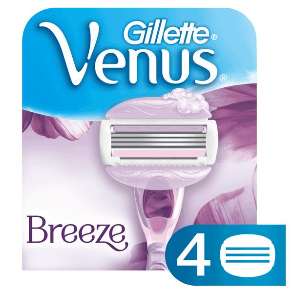 Gillette Venus Breeze náhradní hlavice 4 ks
