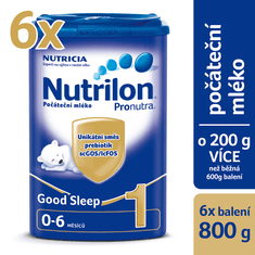 Nutrilon 1 Pronutra Good Sleep - 6x 800g