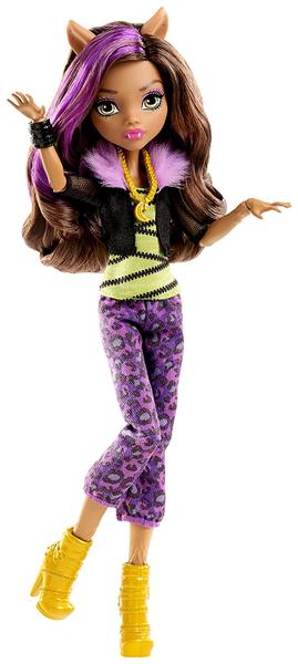 Monster High Módní panenka Clawdeen wolf