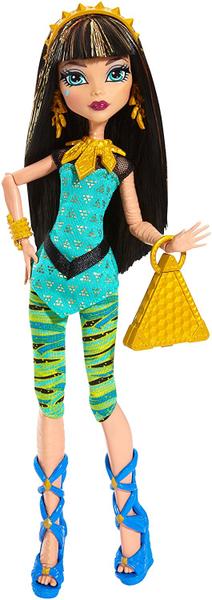 Monster High Módní panenka Cleo de Nile