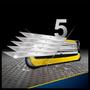 3 - Gillette Fusion ProShield Pánský holicí strojek s technologií FlexBall + holicí hlavice 4 ks