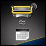 6 - Gillette Fusion ProShield Pánský holicí strojek s technologií FlexBall + holicí hlavice 4 ks
