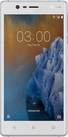 Nokia GSM telefon 3, srebrno-bel