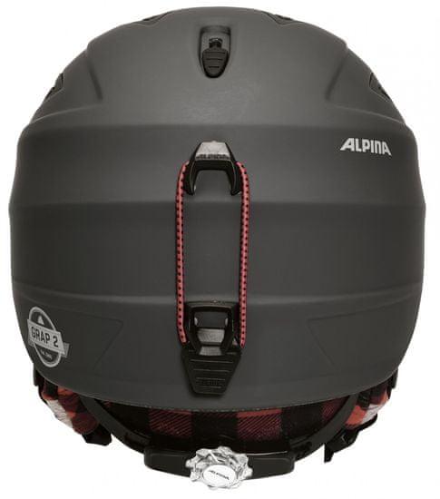 Alpina Sports kask narciarski Grap 2.0 LE