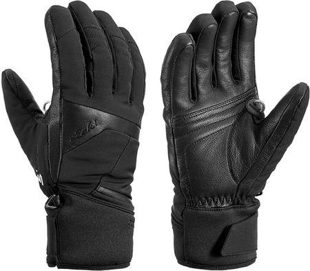 Leki ženske smučarske rokavice Equip S GTX Lady Mitt, črne, 6