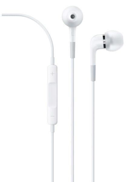 Apple sluchátka do uší s dálkovým ovládáním a mikrofonem (ME186ZM/B)