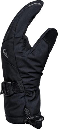 Quiksilver otroške rokavice Mission Youth, črne, S