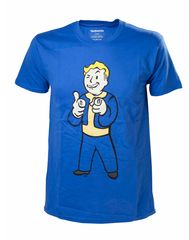 T-shirt męski Fallout 4 Vault Boy Shooting Fingers, L