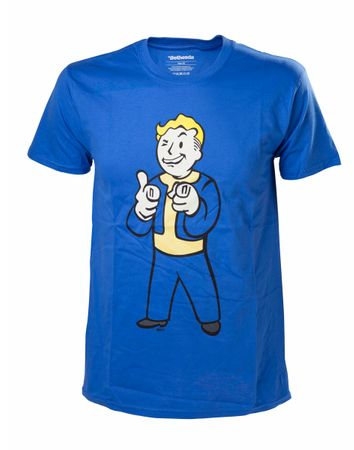 Majica Fallout 4 - Vault-Boy Shooting Fingers, velikost L